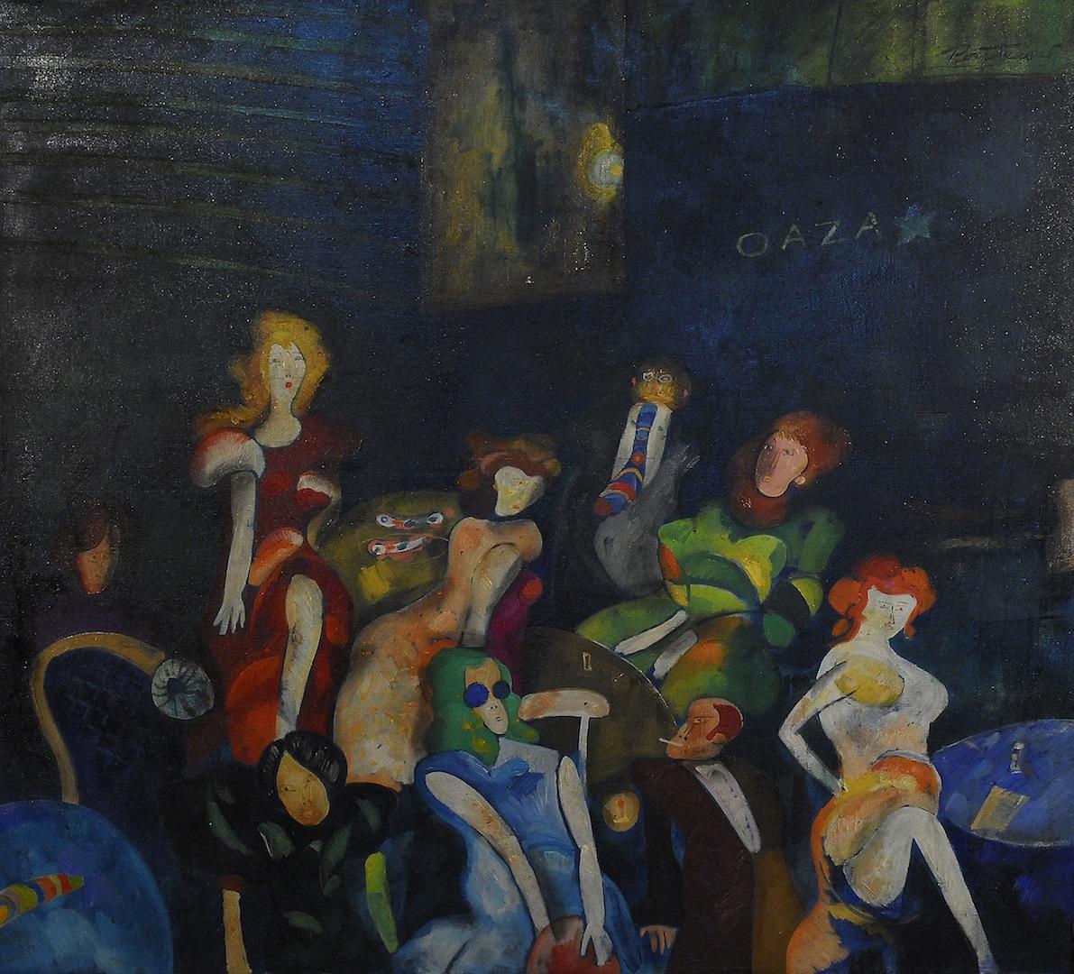 Oaza. Kompozycja figuralna I, ok. 1969
