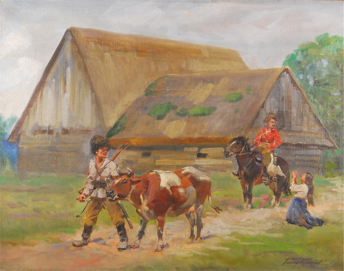 Kozacy i dziewczyna, 1932