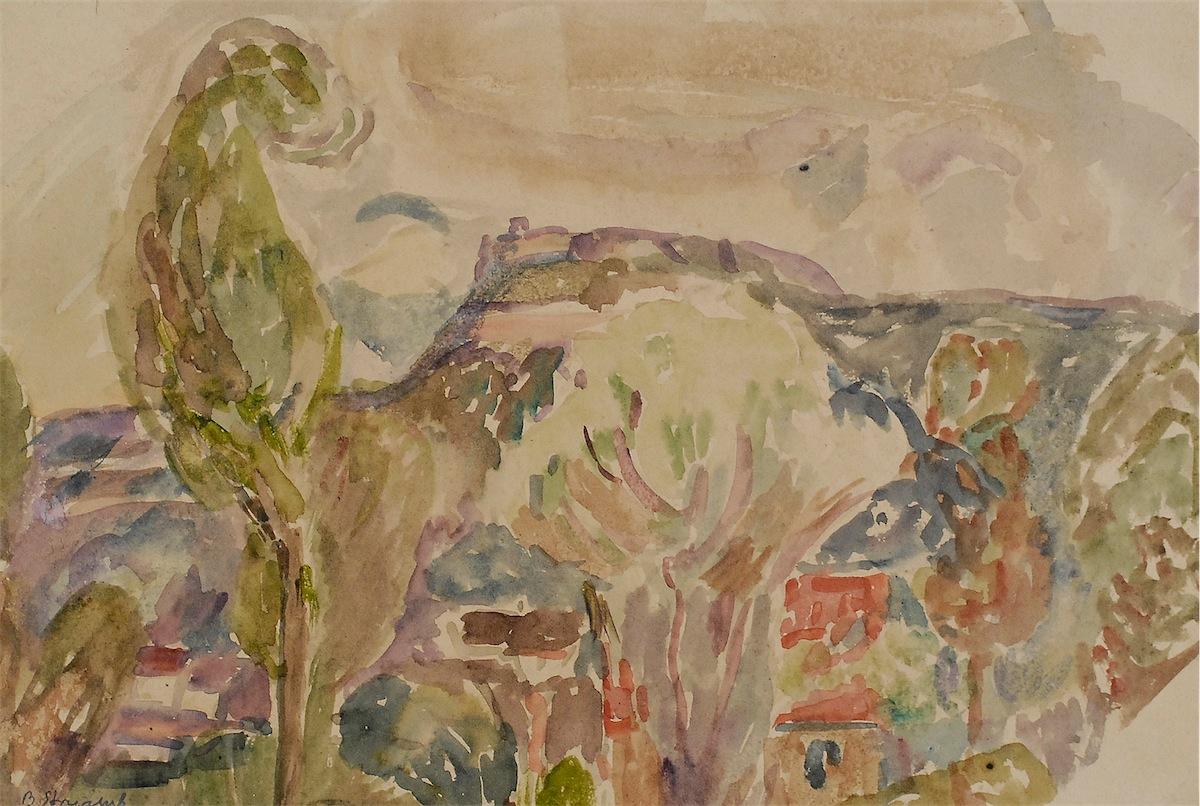 Pejzaż z Krzemieńca, 1941