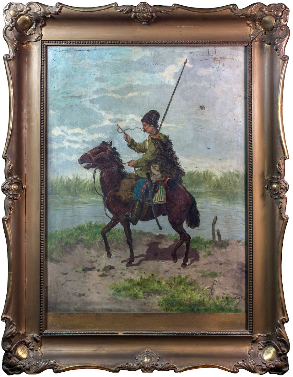 Kozak na koniu
