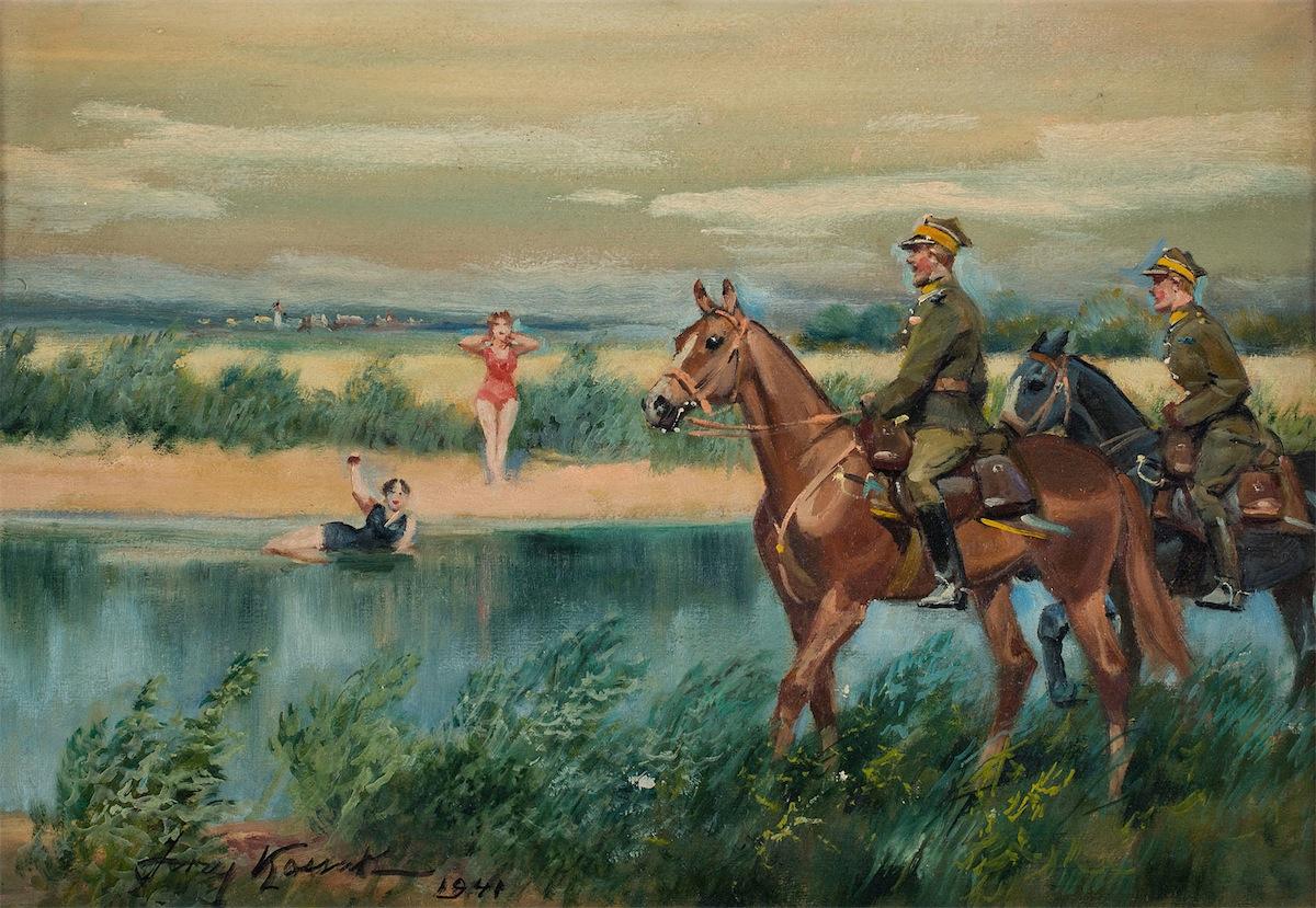 SPOTKANIE NA PLAŻY, 1941