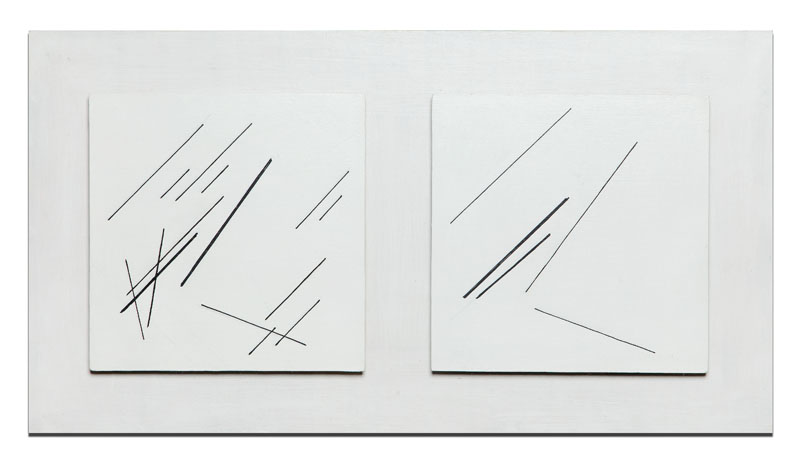 Relief - dyptyk, 1975 r.