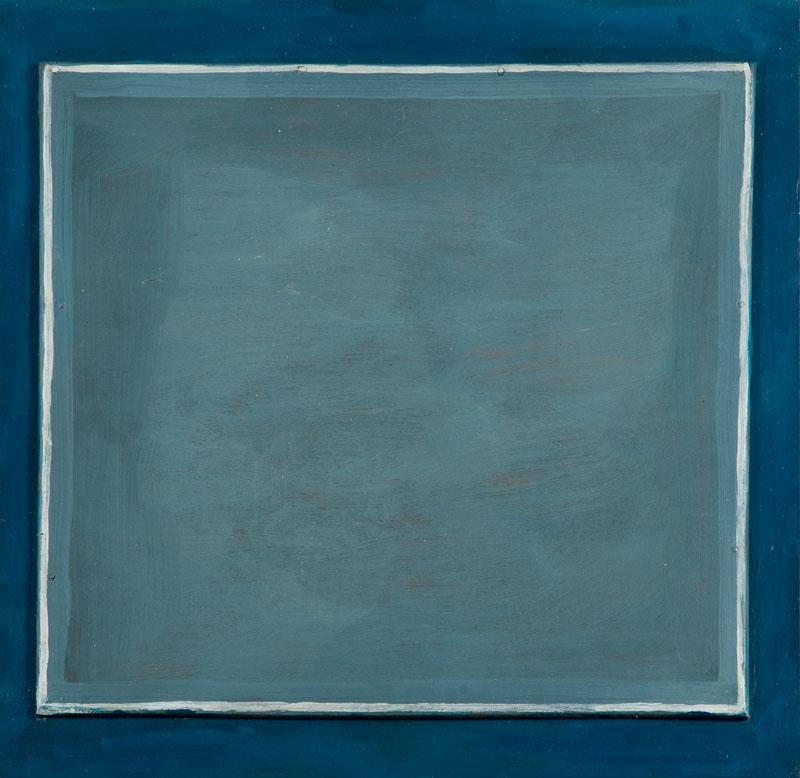 Niebieska abstrakcja, 1962 r.