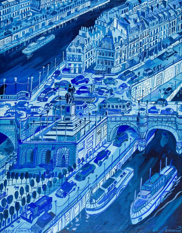Paryż (błękitny), 1994 r.