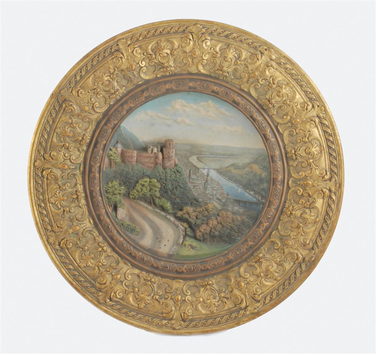 Pejzaż z widokiem na Heidelberg