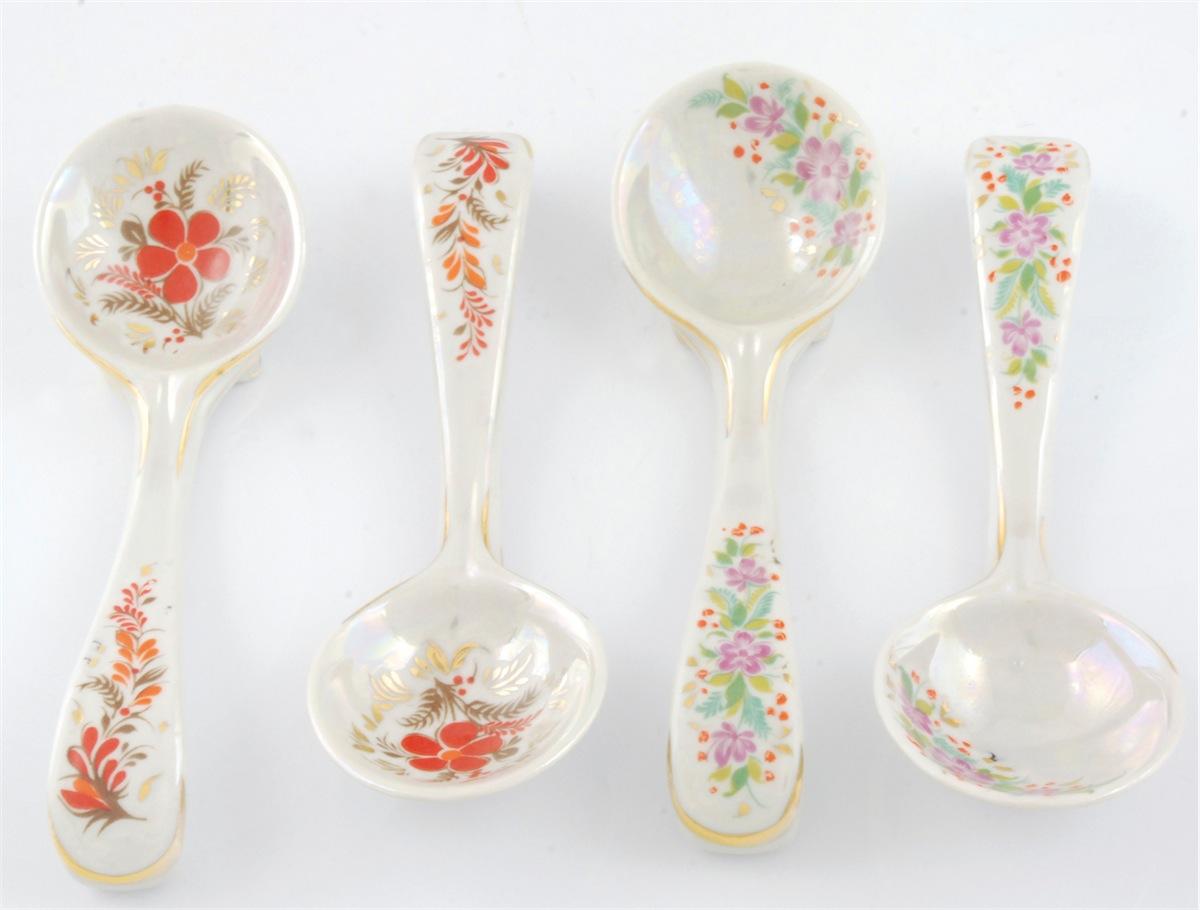 Łyżki dekoracyjne - 12 sztuk