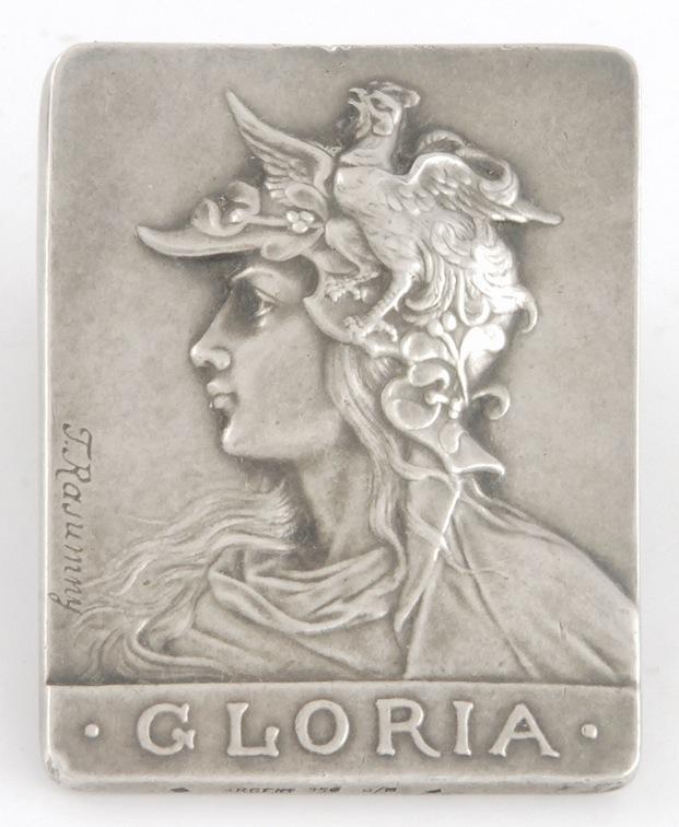 Gloria - plakieta, ok. 1880 r.