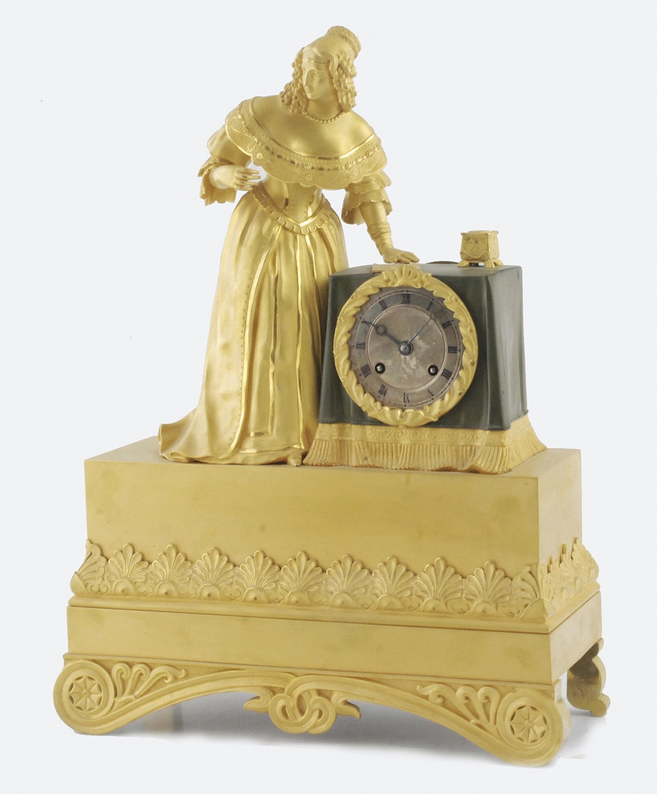 Zegar kominkowy, 2 ćw. XIX w.