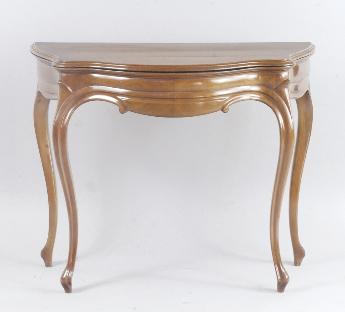 Konsola - stolik do gry w stylu Ludwik Filip