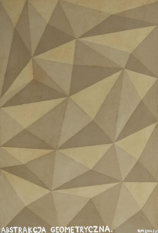 Abstrakcja Geometryczna, 2015 r.