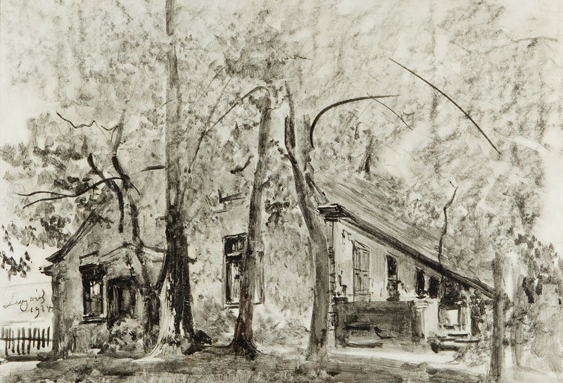 Dworek w Gościeradzu, 1934 r.