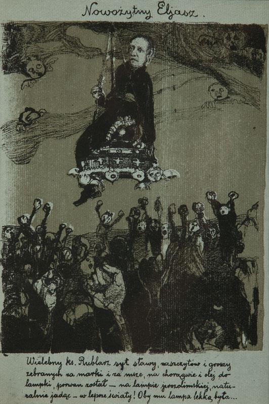 Nowożytny Eliasz, 1905 r.
