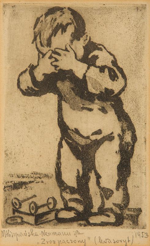 Zrozpaczony, 1953 r.
