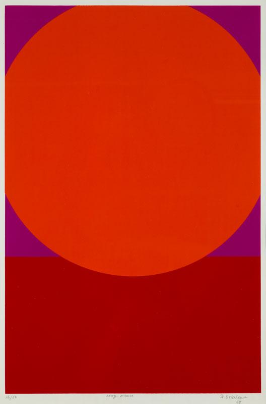 Rouge-mauve, 1969 r.