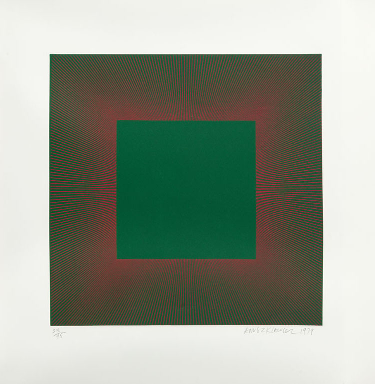 Midnight Suite (Green with Red), 1979 r.