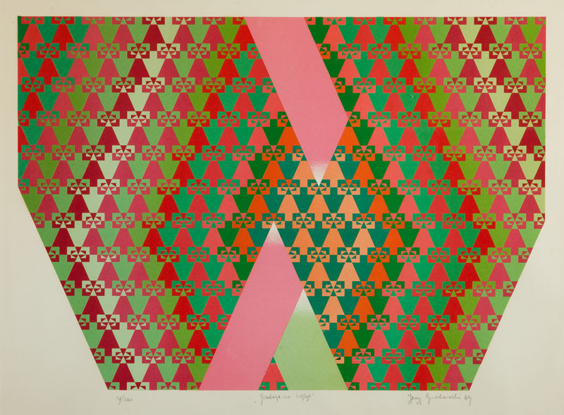 Gradacja na trójkąt, 1969 r.