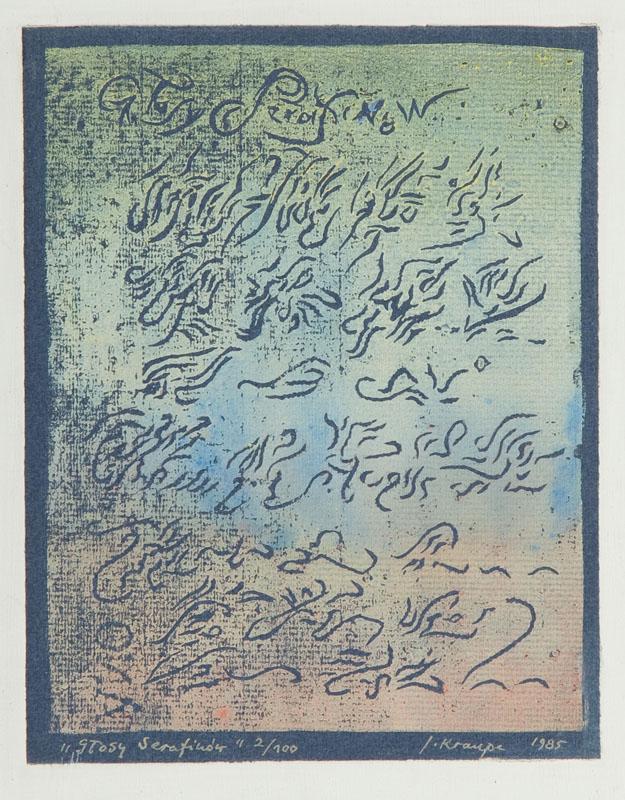 Głosy Serafinów , 1985 r.