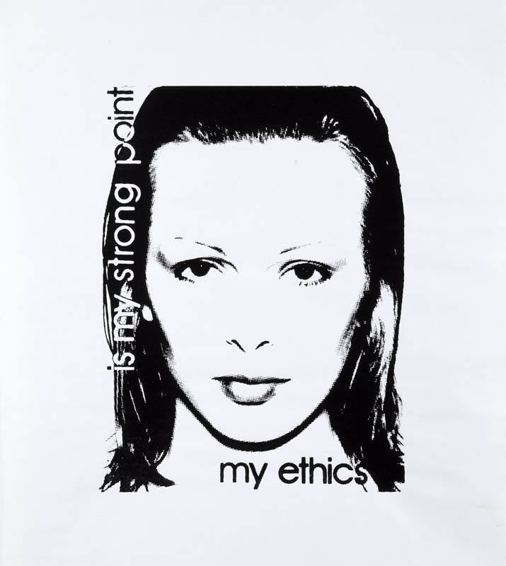 My ethics is my strong point, 1982 r.