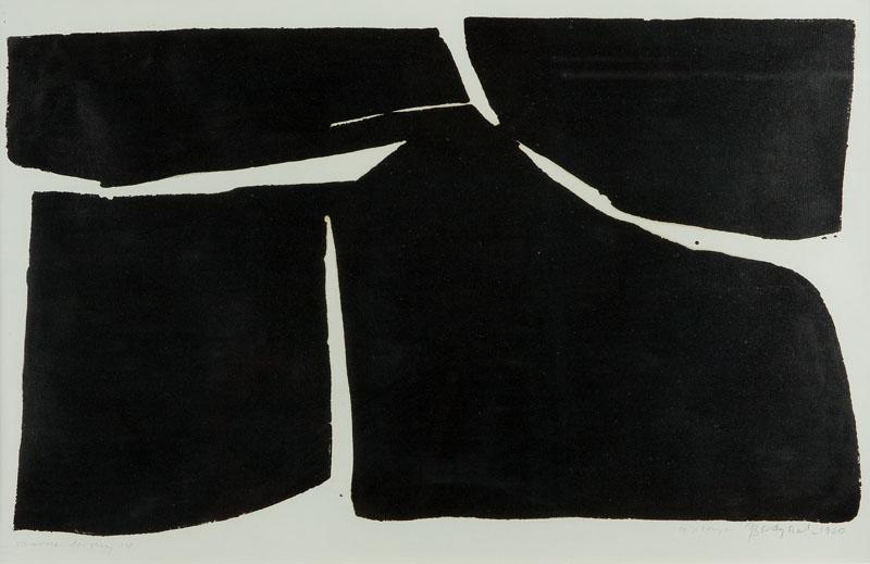 Czarne formy IV, 1960 r.