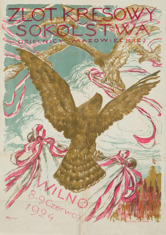 Zlot Kresowy Sokolstwa Dzielnicy Mazowieckiej, 1924 r.