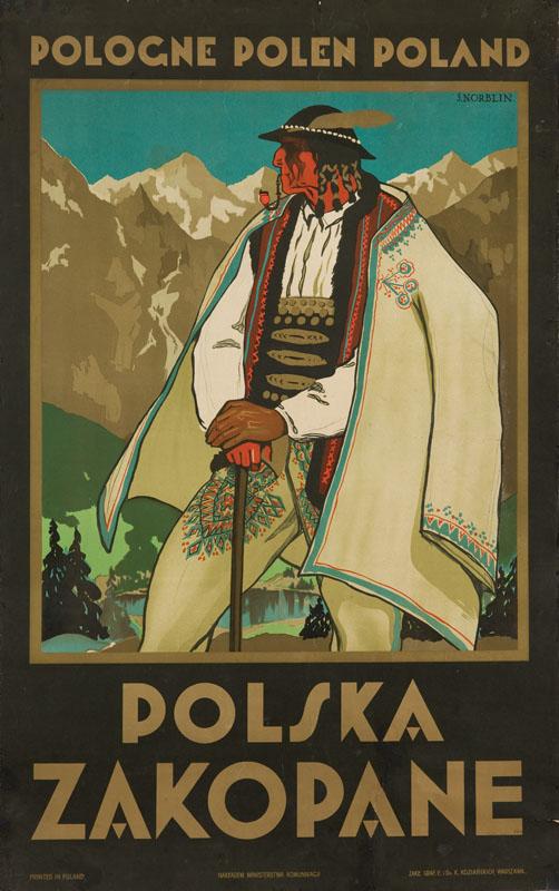 Polska. Zakopane, 1925 r.