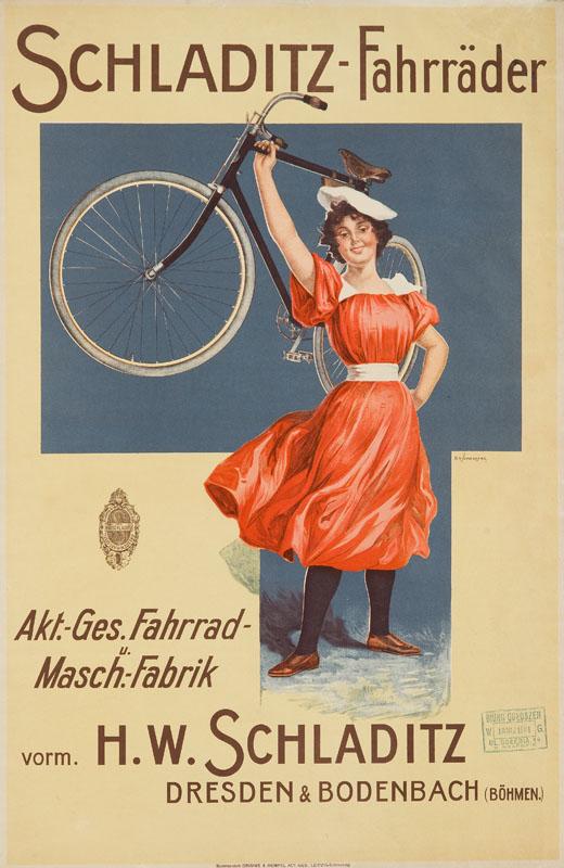 Schladitz-Fahrräder, 1898 r.