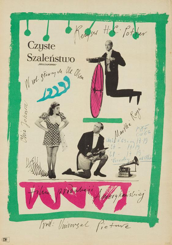 Czyste Szaleństwo, 1959 r.