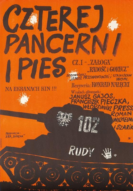 Czterej pancerni i pies cz. I, 1967 r.