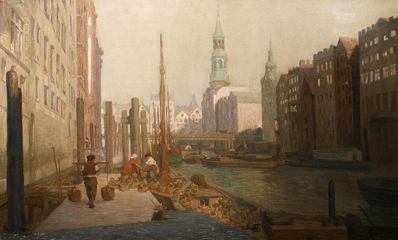 Hamburg, 1913 r.