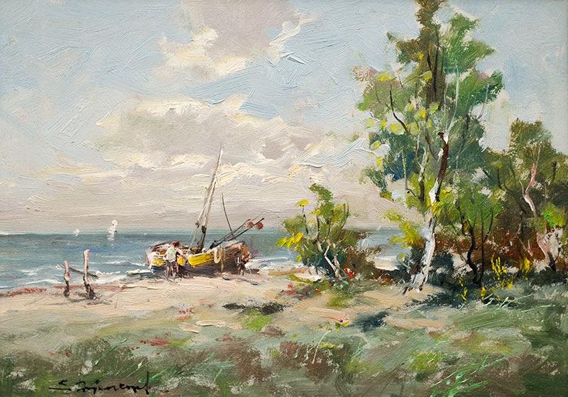 Przy brzegu