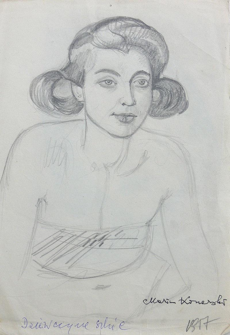 Dziewczyna, 1957 r.