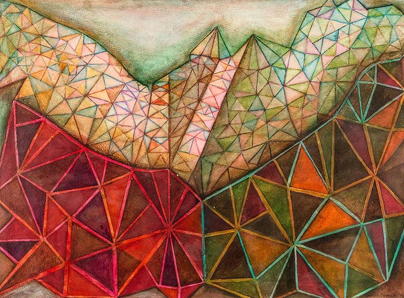 Abstrakcja geometryczna, 1984 r. (?)