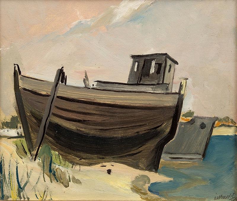 Kuter, z serii helskiej, 1949 r.