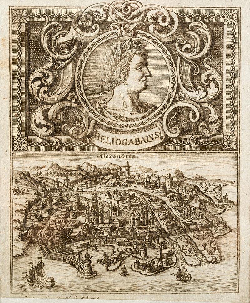 Heliogabalus i Aleksandria, XVIII w.