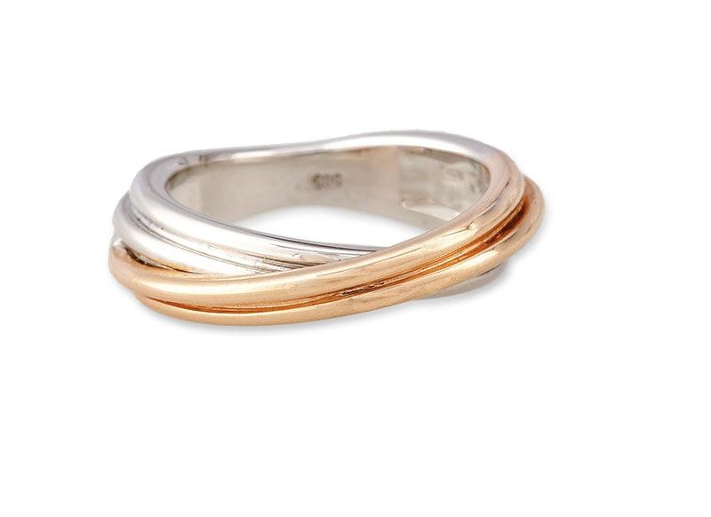 Pierścionek-obrączka, współczesny