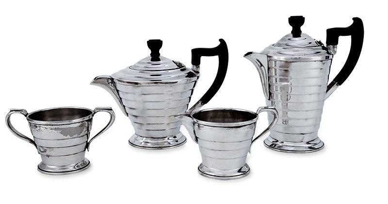 Serwis do kawy i herbaty w stylu art déco II ćw. XX w.