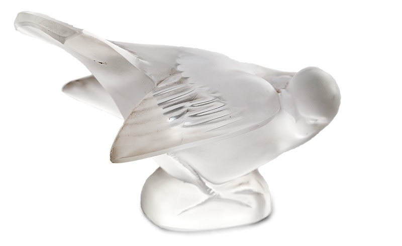 Wróbel, Rene Lalique, Francja, 2 poł. XX w.