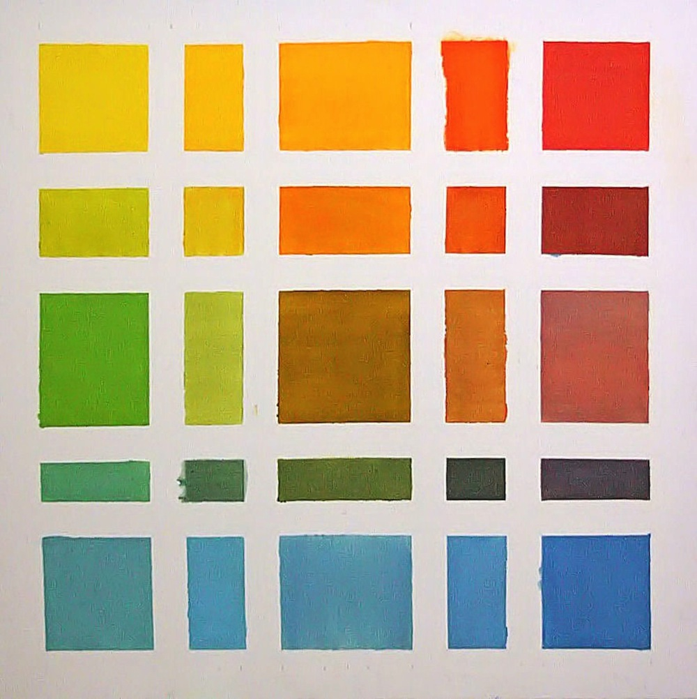 color study, 2011