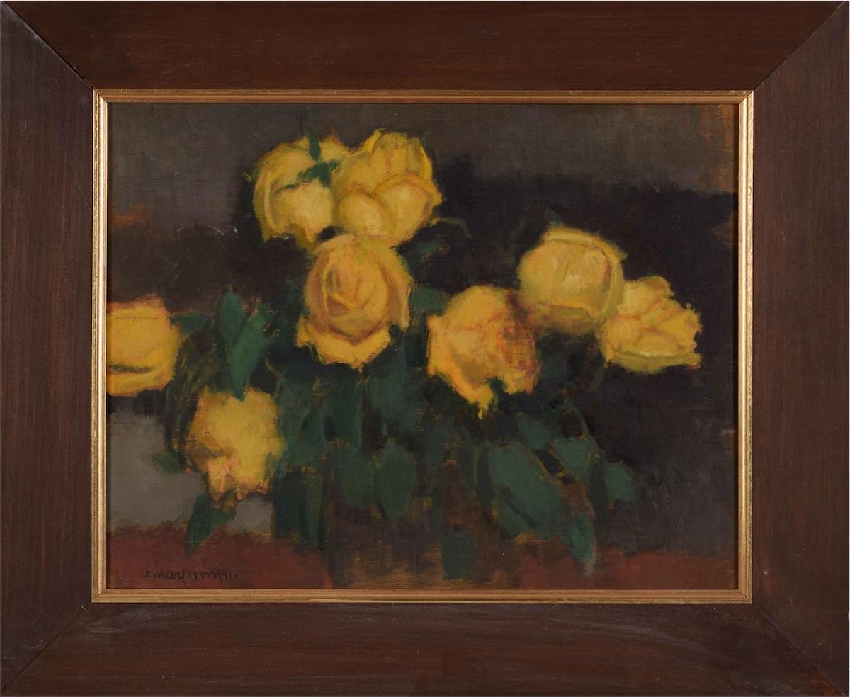 Żółte róże, ok. 1925