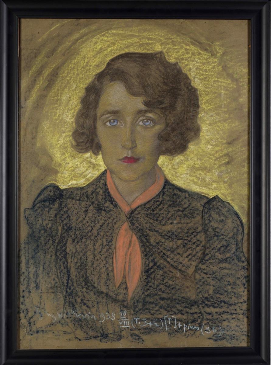 Portret Joanny Neumann-Dobrzańskiej, 1938