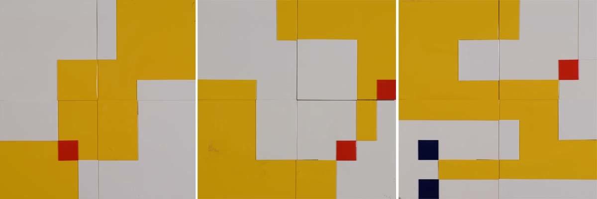 New Space Triad (zestaw trzech prac), 1988