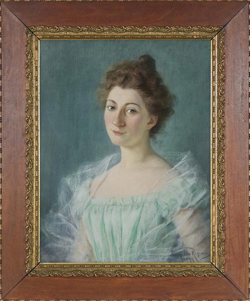 PORTRET LWOWIANKI, PANNY MARII C., 1899