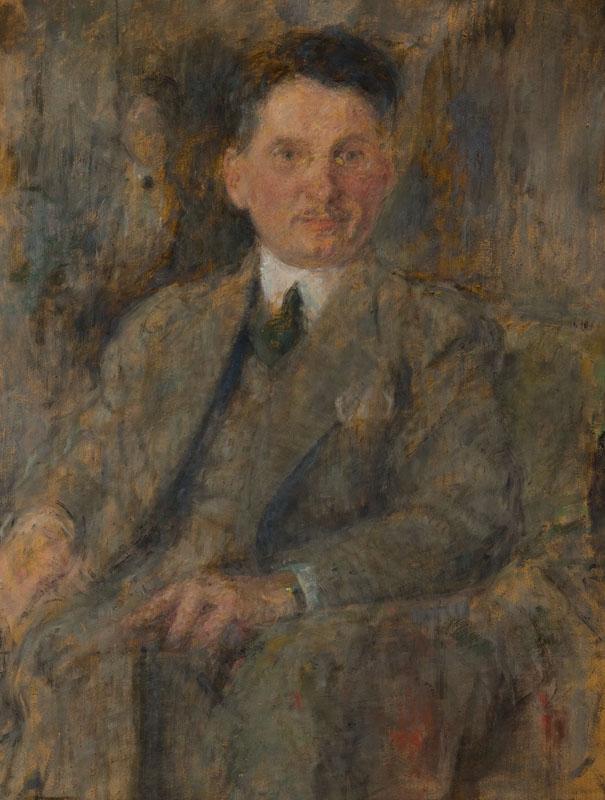 Portret mężczyzny – Stanisław Burtan (1885-1940), po 1920 r.