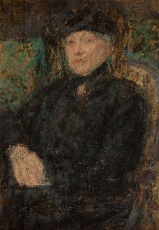 Dama w czerni, 1923 r.