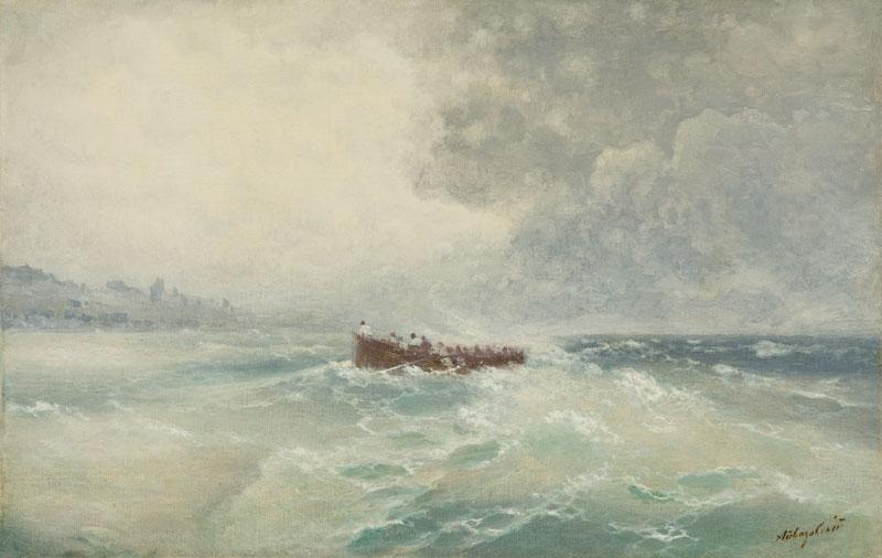 Burza na Krymie, 1895 r.