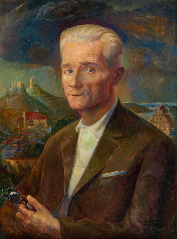 Portret Czesława Misztaka