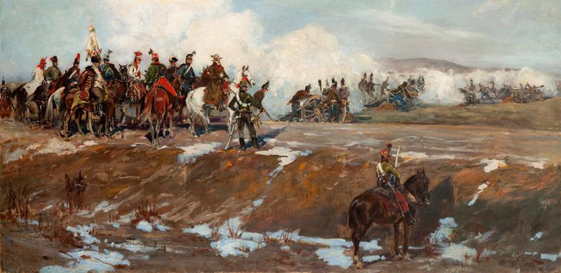 Szkic do Panoramy Siedmiogrodzkiej, 1897-1902 r.
