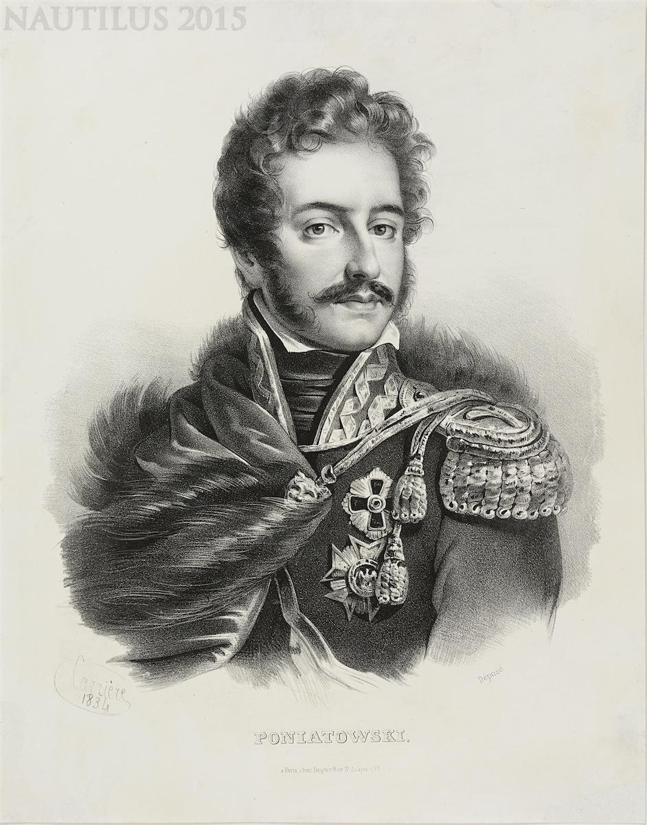 Książę Józef Poniatowski, 1834