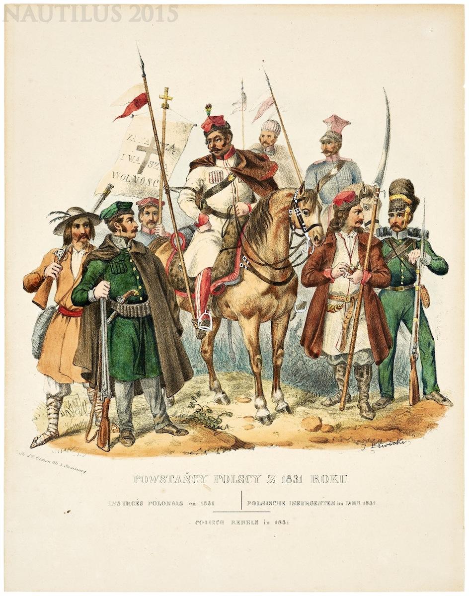 Powstańcy polscy z 1831, 1841