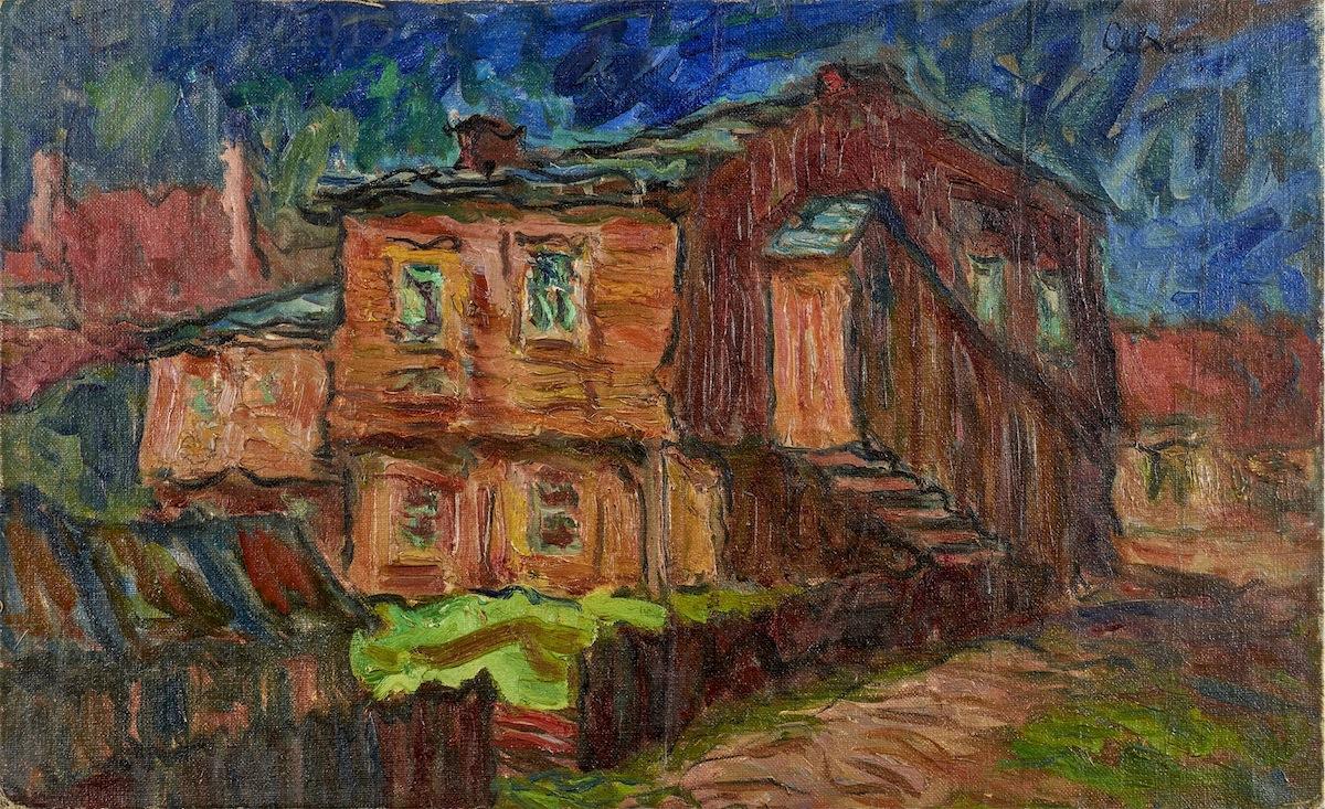 Widok z Przemyśla, ok. 1950